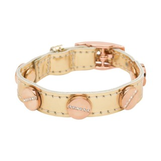 Cc Skye Signature Single Wrap Rose Gold Pave Bracelet Liquid