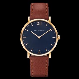 Uhr-Sailor-Line-Blue-Lagoon-IP-Gold-Lederarmband-Braun5a1580bc97063_600x600@2x