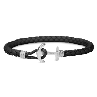 Ankerarmband-PHREP-Lite-Edelstahl-Schwarz